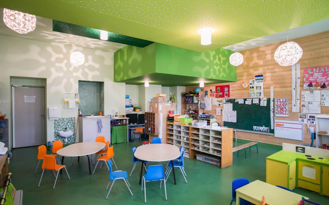 École maternelle à Milhac d'Auberoche