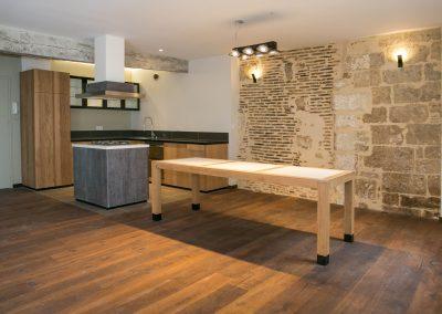 Rénovation dans un appartement de Périgueux