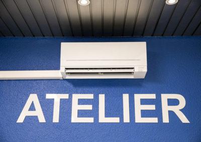 Cartridge World – Pose climatisation